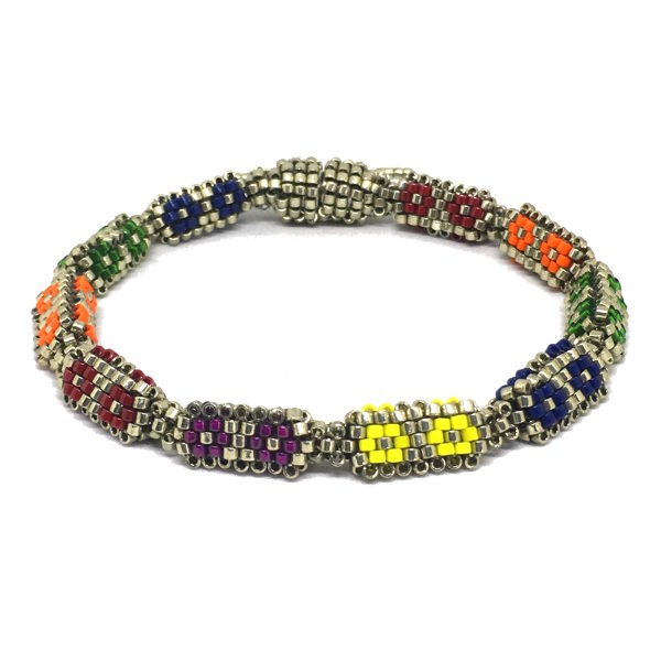 Beaded Buds Tennis Bracelet