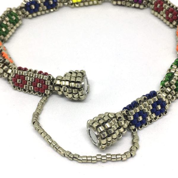 Beaded Buds Tennis Bracelet