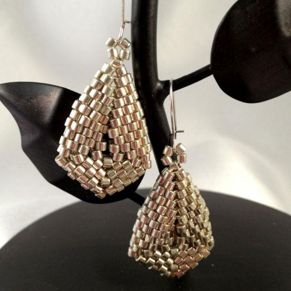 Simply Silver Oval Earrings